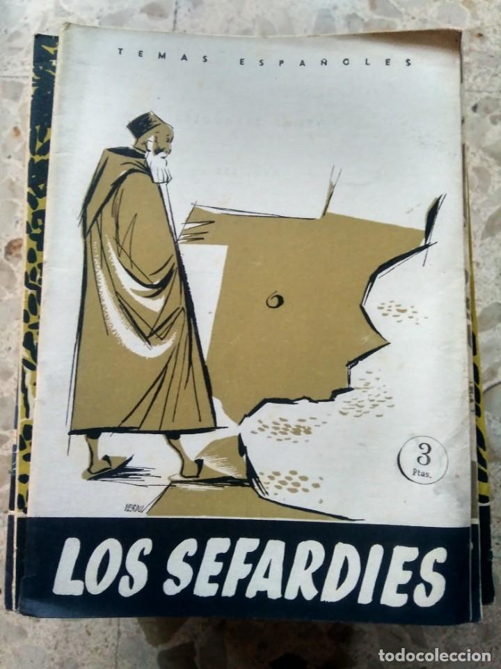 TEMAS ESPAÑOLES - Nº 252 - LOS SEFARDÍES - JESÚS CANTERA ORTIZ DE URBINA (Papel - Revistas y Periódicos Modernos (a partir de 1.940) - Revista Temas Españoles)