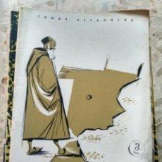 Collectionnisme de Magazine Temas Españoles: TEMAS ESPAÑOLES - Nº 252 - LOS SEFARDÍES - JESÚS CANTERA ORTIZ DE URBINA. Lote 231818405