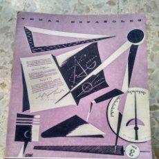 Collectionnisme de Magazine Temas Españoles: TEMAS ESPAÑOLES - Nº 105 - FORMACIÓN PROFESIONAL ORIENTACIÓN - VALENTÍN FERNÁNDEZ CUEVAS. Lote 231912000