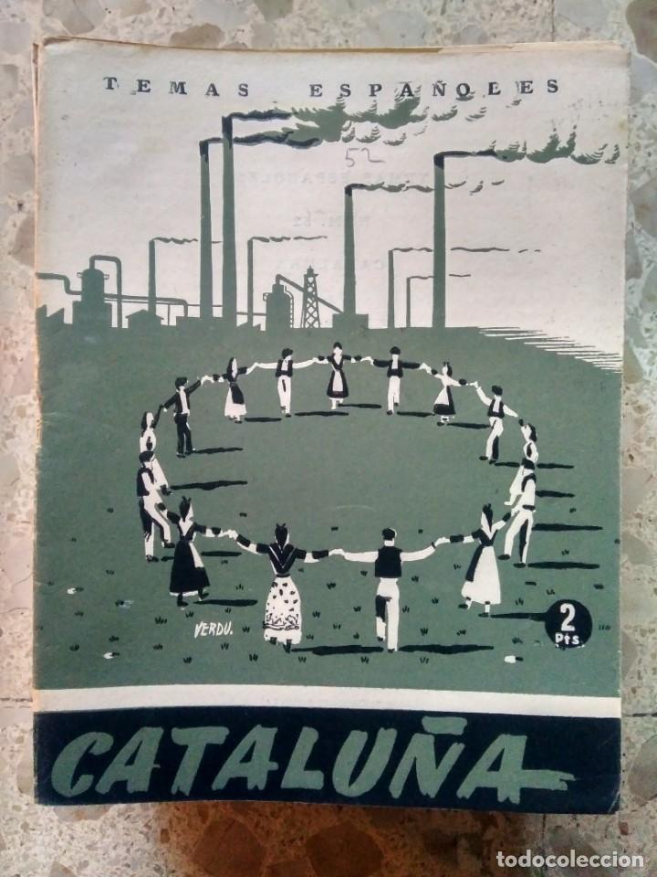TEMAS ESPAÑOLES - Nº 52 - CATALUÑA - F. FERRARI BILLOCH (Papel - Revistas y Periódicos Modernos (a partir de 1.940) - Revista Temas Españoles)