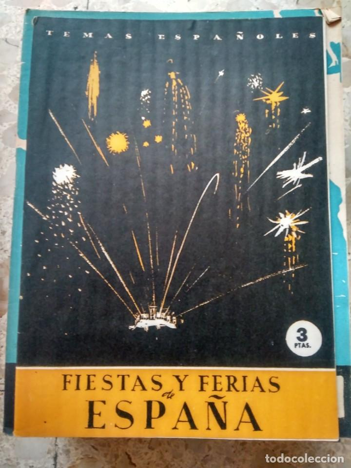 TEMAS ESPAÑOLES - Nº 2 - FERIAS Y FIESTAS DE ESPAÑA (Papel - Revistas y Periódicos Modernos (a partir de 1.940) - Revista Temas Españoles)