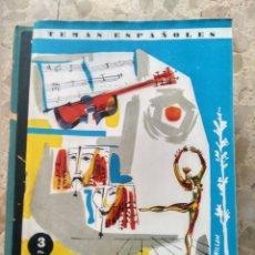Collectionnisme de Magazine Temas Españoles: TEMAS ESPAÑOLES - Nº 403 - FESTIVALES DE ESPAÑA - NÚMERO EXTRAORDINARIO - RAFAEL CAMPOS DE ESPAÑA. Lote 232149925