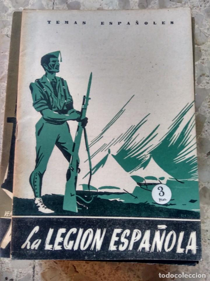 TEMAS ESPAÑOLES - Nº 92 - LA LEGIÓN ESPAÑOLA - FRANCISCO GÓMEZ DE TRAVECEDO (Papel - Revistas y Periódicos Modernos (a partir de 1.940) - Revista Temas Españoles)