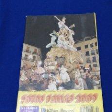 Coleccionismo de Revista Temas Españoles: ALBUM BAYARRI FOTOS FALLAS 2009. Lote 233805110