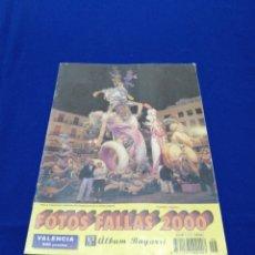 Coleccionismo de Revista Temas Españoles: ALBUM BAYARRI FOTO FALLAS 2000. Lote 233817390