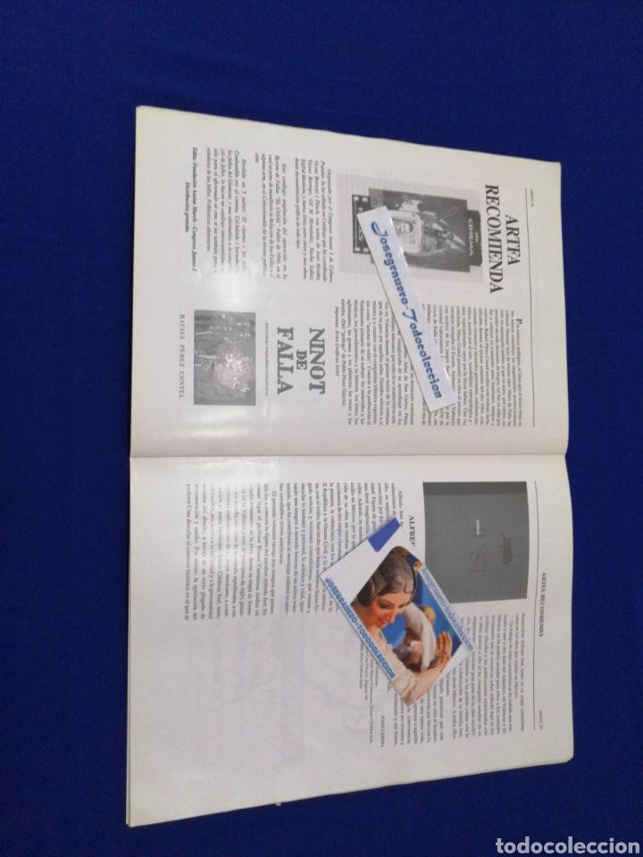 Coleccionismo de Revista Temas Españoles: ARTFA REVISTA FALLERA INVESTIGACIÓN NUMERO 10 - 1995 - Foto 6 - 233840505