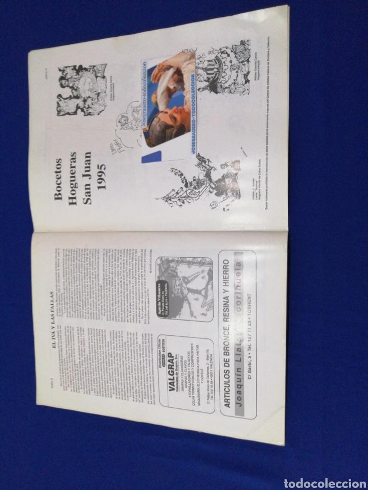 Coleccionismo de Revista Temas Españoles: ARTFA REVISTA FALLERA INVESTIGACIÓN NUMERO 10 - 1995 - Foto 7 - 233840505