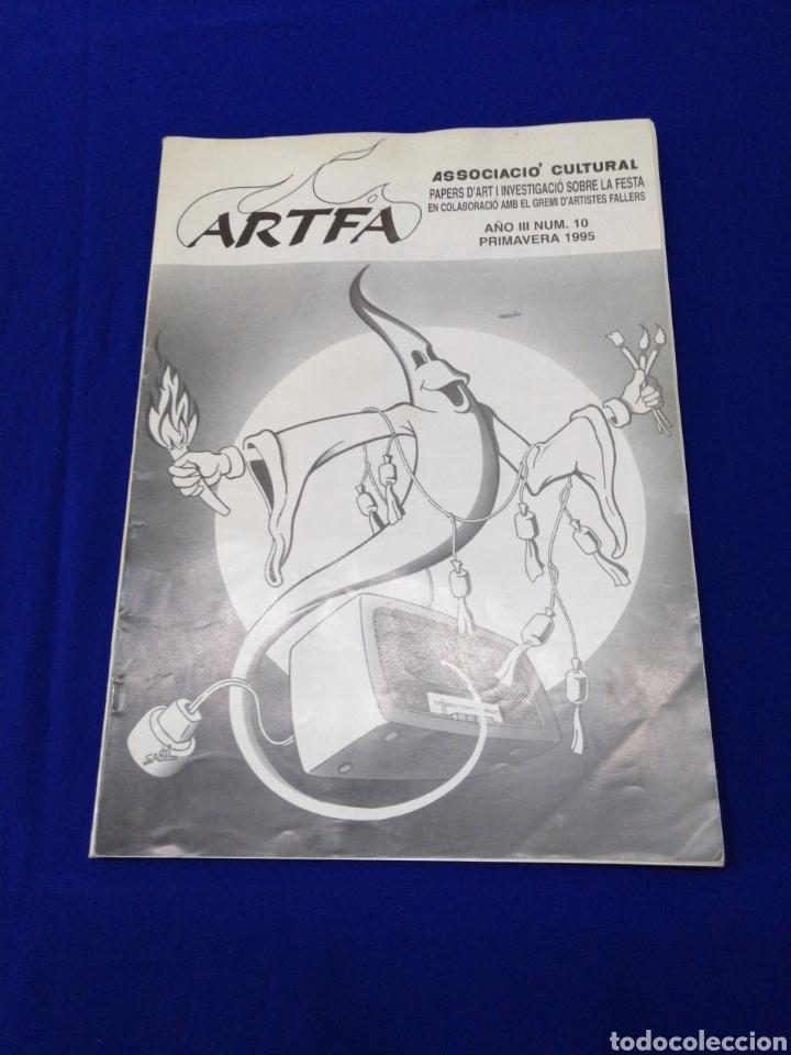 ARTFA REVISTA FALLERA INVESTIGACIÓN NUMERO 10 - 1995 (Papel - Revistas y Periódicos Modernos (a partir de 1.940) - Revista Temas Españoles)