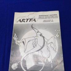 Coleccionismo de Revista Temas Españoles: ARTFA REVISTA FALLERA INVESTIGACIÓN NUMERO 10 - 1995. Lote 233840505
