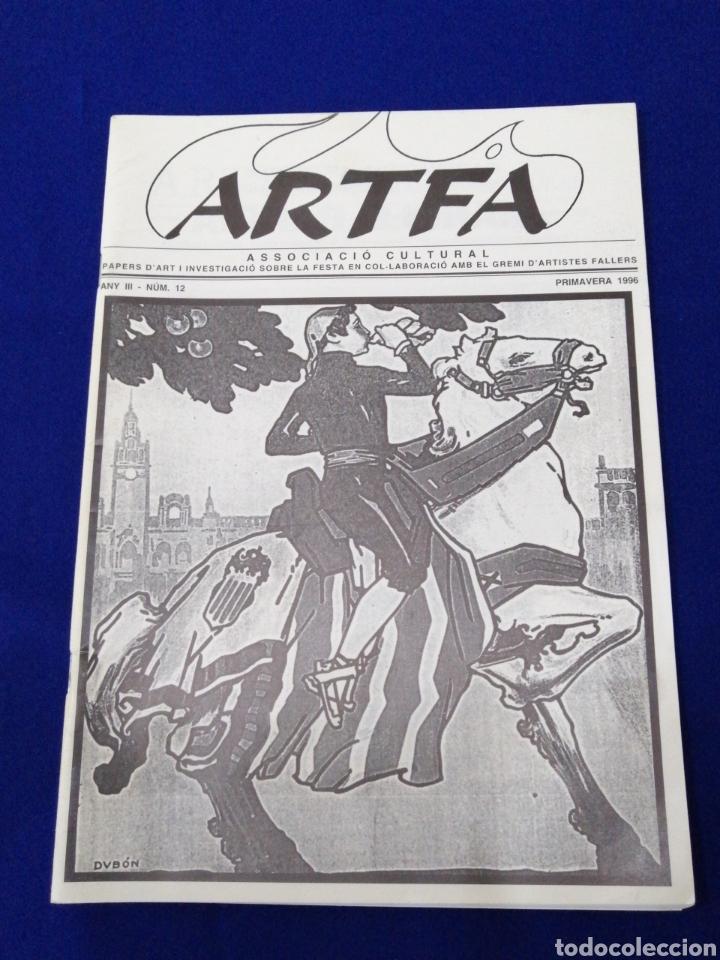 Coleccionismo de Revista Temas Españoles: ARTFA GREMIO ARTISTAS FALLEROS 1996 - Foto 2 - 234002665