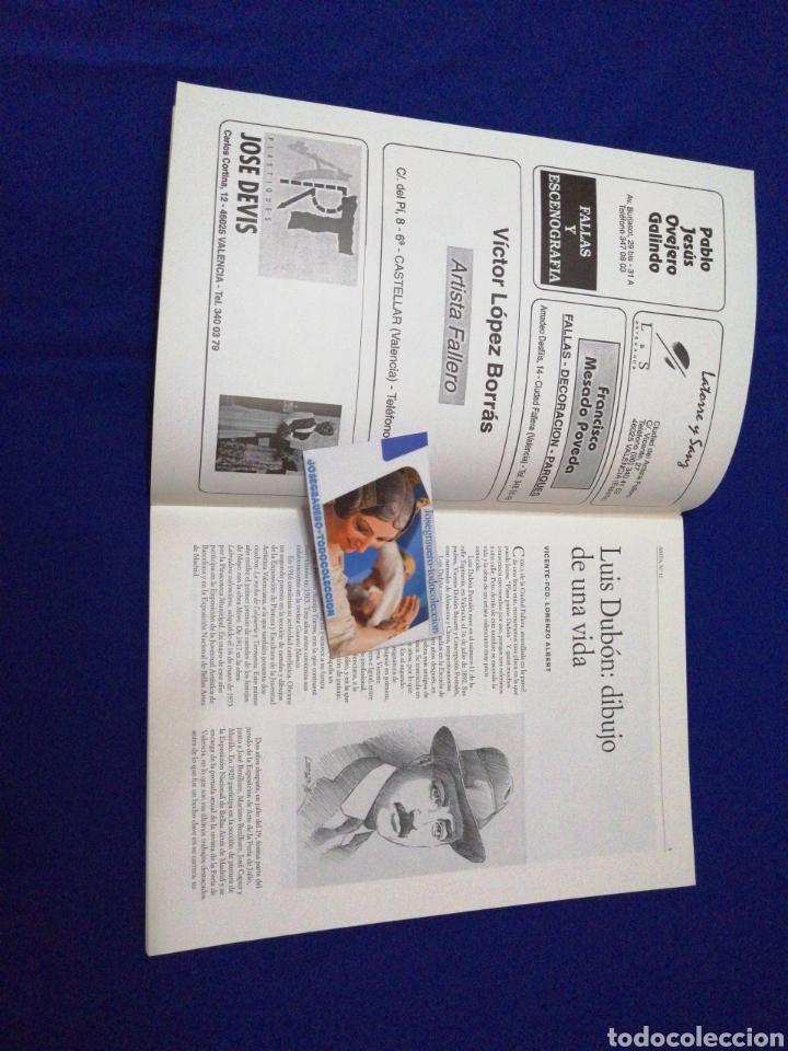 Coleccionismo de Revista Temas Españoles: ARTFA GREMIO ARTISTAS FALLEROS 1996 - Foto 4 - 234002665