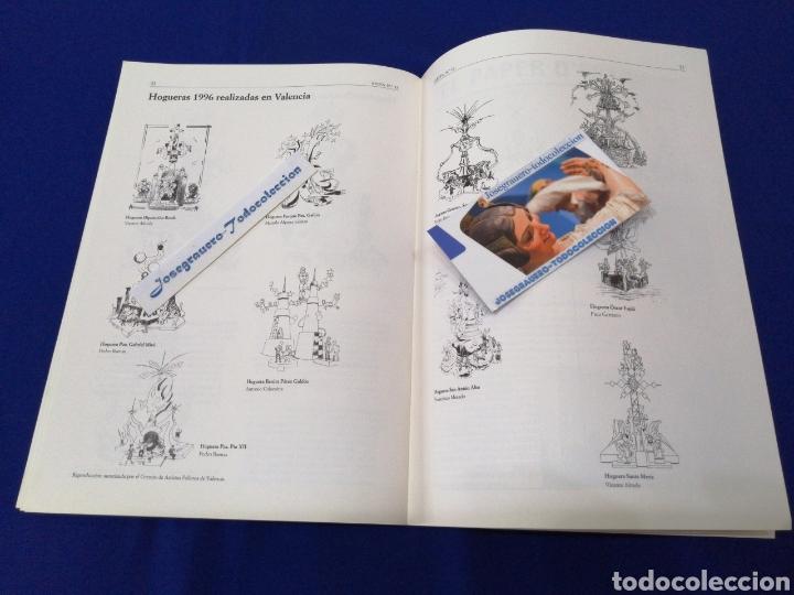 Coleccionismo de Revista Temas Españoles: ARTFA GREMIO ARTISTAS FALLEROS 1996 - Foto 10 - 234002665