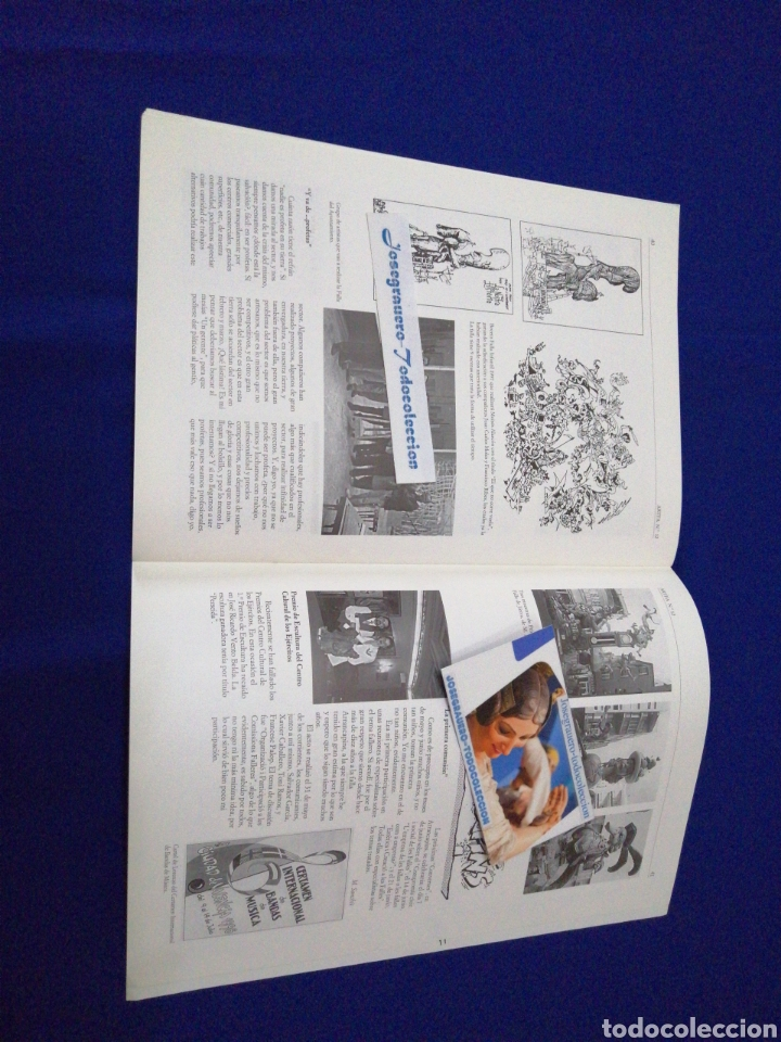 Coleccionismo de Revista Temas Españoles: ARTFA GREMIO ARTISTAS FALLEROS 1996 - Foto 12 - 234002665