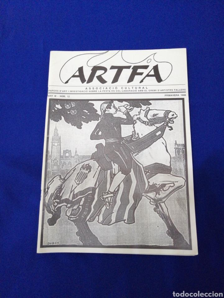 ARTFA GREMIO ARTISTAS FALLEROS 1996 (Papel - Revistas y Periódicos Modernos (a partir de 1.940) - Revista Temas Españoles)