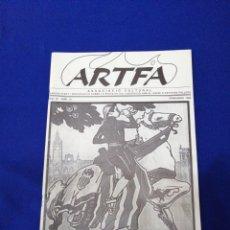 Coleccionismo de Revista Temas Españoles: ARTFA GREMIO ARTISTAS FALLEROS 1996. Lote 234002665