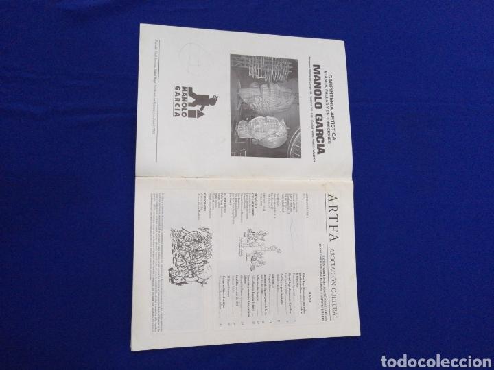 Coleccionismo de Revista Temas Españoles: ARTFA GREMIO ARTISTAS FALLEROS 1996 - Foto 2 - 234003785