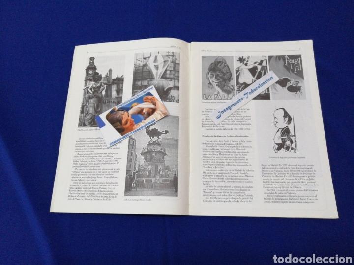 Coleccionismo de Revista Temas Españoles: ARTFA GREMIO ARTISTAS FALLEROS 1996 - Foto 4 - 234003785