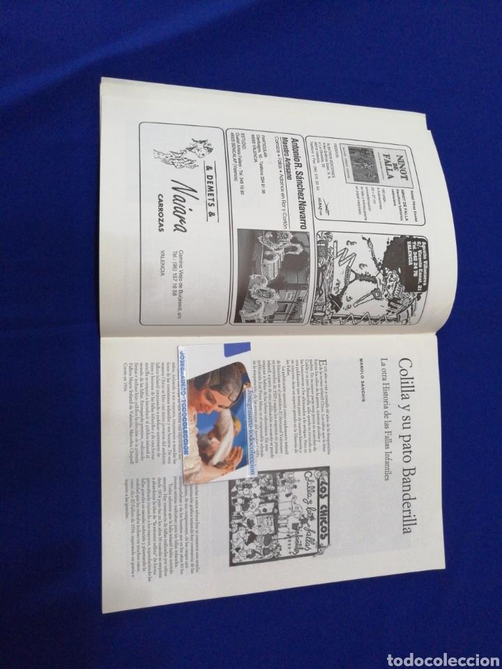 Coleccionismo de Revista Temas Españoles: ARTFA GREMIO ARTISTAS FALLEROS 1996 - Foto 5 - 234003785