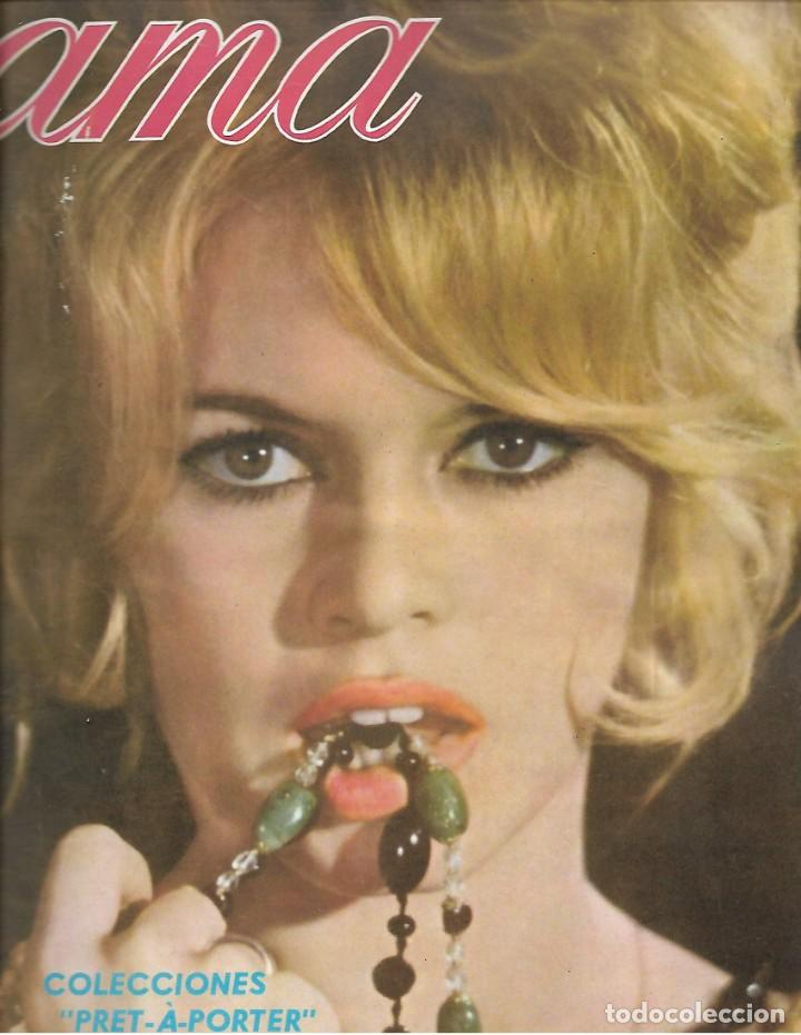 REVISTA AMA Nº 196 AÑO 1968 EN PORTADA BRIGITTE BARDOT EN ALMERIA (Papel - Revistas y Periódicos Modernos (a partir de 1.940) - Revista Temas Españoles)