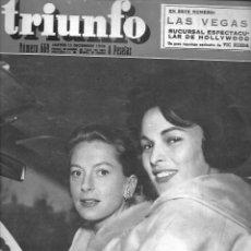 Coleccionismo de Revista Temas Españoles: REVISTA TRIUNFO Nº 669 AÑO 1959 EN PORTADA DEBORAH Y LUCIA. Lote 234356460