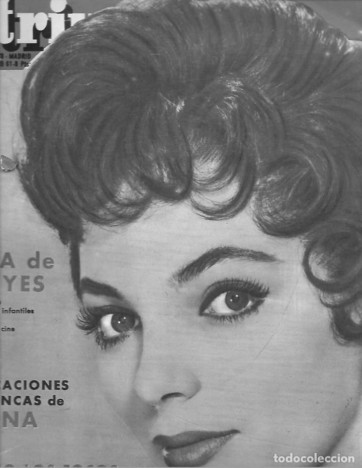 REVISTA TRIUNFO Nº 778 AÑO 1961 EN PORTADA JOAN COLLINS (Papel - Revistas y Periódicos Modernos (a partir de 1.940) - Revista Temas Españoles)