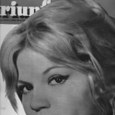 Coleccionismo de Revista Temas Españoles: REVISTA TRIUNFO Nº 798 AÑO 1961 EN PORTADA CRISTINA GAJONI LA B.B. ITALIANA. Lote 234358830