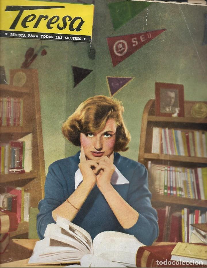 REVISTA PARA LA MUJER TERESA Nº 18 AÑO 1955 (Papel - Revistas y Periódicos Modernos (a partir de 1.940) - Revista Temas Españoles)