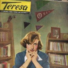 Coleccionismo de Revista Temas Españoles: REVISTA PARA LA MUJER TERESA Nº 18 AÑO 1955. Lote 234359330