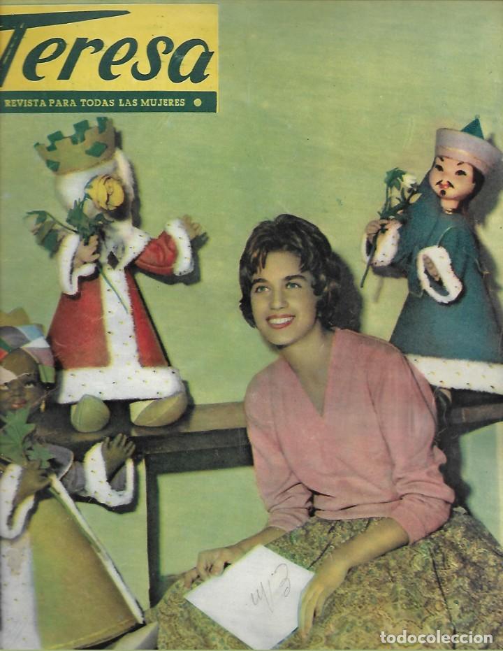 REVISTA PARA LA MUJER TERESA Nº 51 AÑO 1959 (Papel - Revistas y Periódicos Modernos (a partir de 1.940) - Revista Temas Españoles)