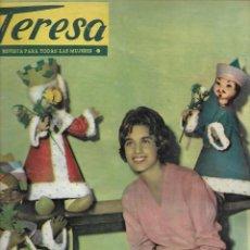Coleccionismo de Revista Temas Españoles: REVISTA PARA LA MUJER TERESA Nº 51 AÑO 1959. Lote 234362600