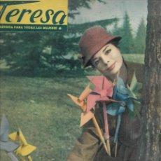 Coleccionismo de Revista Temas Españoles: REVISTA PARA LA MUJER TERESA Nº 58 AÑO 1959. Lote 234362855