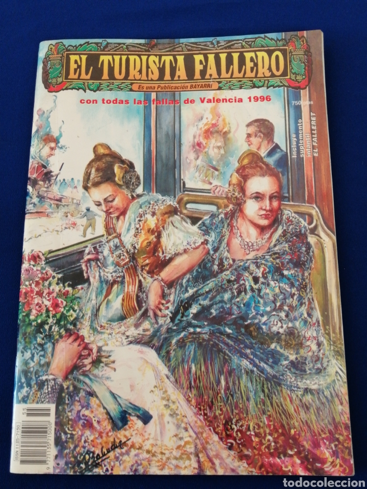 Coleccionismo de Revista Temas Españoles: EL TURISTA FALLERO 1996 - Foto 2 - 234855590