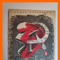 Coleccionismo de Revista Temas Españoles: DE LA REPUBLICA AL COMUNISMO (CUADERNO II) - TEMAS ESPAÑOLES Nº 88 - DIEGO SEVILLA ANDRES. Lote 235455720