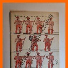 Coleccionismo de Revista Temas Españoles: PRIMERA GUERRA CARLISTA . TEMAS ESPAÑOLES Nº 110 - SANTIAGO GALINDO HERRERO. Lote 235458595