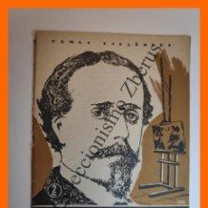 Coleccionismo de Revista Temas Españoles: VALERIANO BECQUER . TEMAS ESPAÑOLES Nº 157 - FRANCISCO POMPEY. Lote 235629580