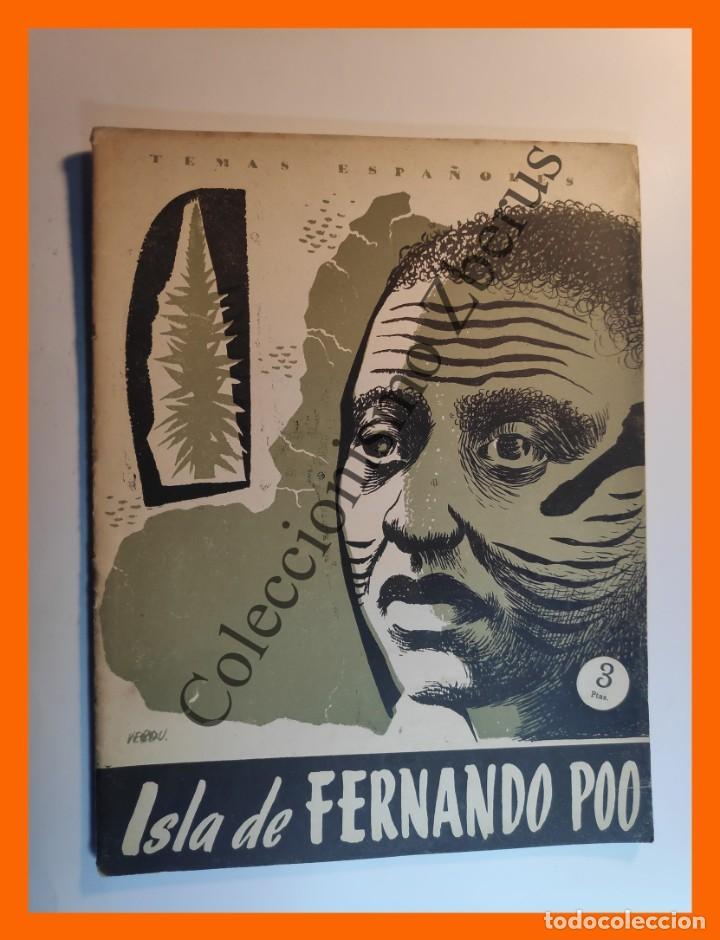 ISLA DE FERNANDO POO . TEMAS ESPAÑOLES Nº 248 - DOMINGO MANFREDI CANO (Papel - Revistas y Periódicos Modernos (a partir de 1.940) - Revista Temas Españoles)