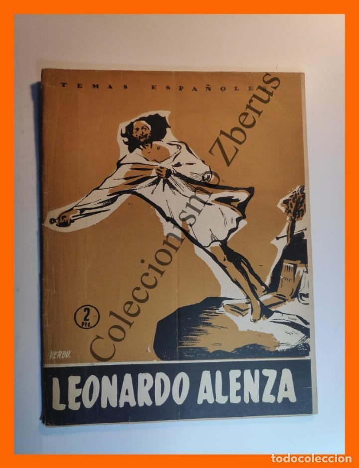 LEONARDO ALENZA . TEMAS ESPAÑOLES Nº 249 - FRANCISCO POMPEY (Papel - Revistas y Periódicos Modernos (a partir de 1.940) - Revista Temas Españoles)