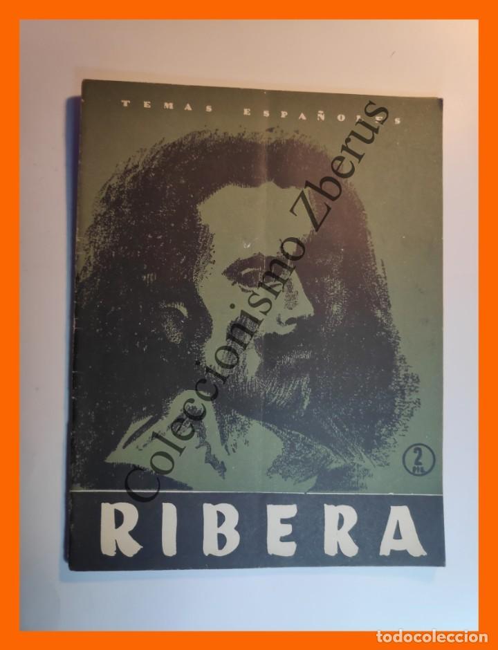 RIBERA . TEMAS ESPAÑOLES Nº 269 - FRANCISCO POMPEY (Papel - Revistas y Periódicos Modernos (a partir de 1.940) - Revista Temas Españoles)