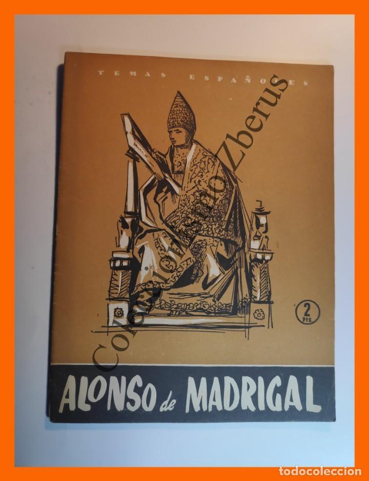 ALONSO DE MADRIGAL . TEMAS ESPAÑOLES Nº 301 - JOSE SANZ Y DÍAZ (Papel - Revistas y Periódicos Modernos (a partir de 1.940) - Revista Temas Españoles)