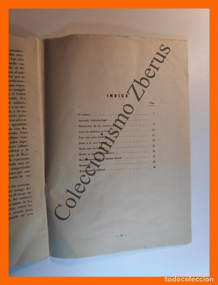 Coleccionismo de Revista Temas Españoles: Rios Salmoneros . Temas Españoles Nº 234 - Luis Aguirre Prado - Foto 3 - 235915735