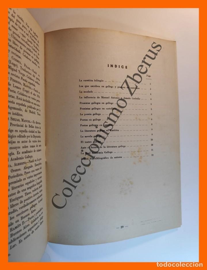 Coleccionismo de Revista Temas Españoles: Literatura Gallega actual . Temas Españoles Nº 335 - Javier Costa Clavell - Foto 2 - 235916740