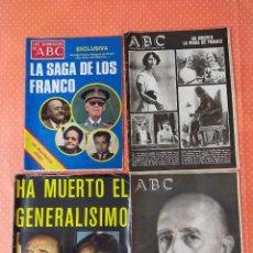 Coleccionismo de Revista Temas Españoles: PEQUEÑA COLECCIÓN DE PRENSA DE FRANCISCO FRANCO BAHAMONDE. Lote 238503665