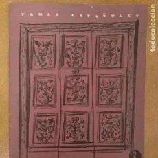 Coleccionismo de Revista Temas Españoles: TEMAS ESPAÑOLES. MUSEO Y COLEGIO DEL PATRIARCA. 1957. Lote 240432095