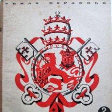 Collectionnisme de Magazine Temas Españoles: TEMAS ESPAÑOLES 83 – EL MARQUÉS DE COMILLAS - BERTA PENSADO. Lote 51047679