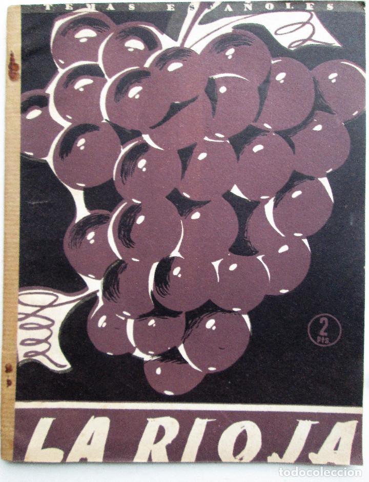 TEMAS ESPAÑOLES 170 – LA RIOJA - JULIA MARTINEZ (Papel - Revistas y Periódicos Modernos (a partir de 1.940) - Revista Temas Españoles)