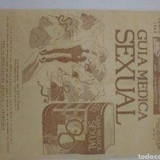 Coleccionismo de Revista Temas Españoles: REVISTA GUIA MEDIA SEXUAL 1963. Lote 241127545