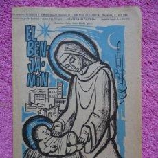 Coleccionismo de Revista Temas Españoles: EL BENJAMÍN REVISTA INFANTIL 299 NAVIDAD DICIEMBRE 1968. Lote 242857500