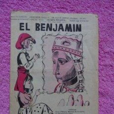 Coleccionismo de Revista Temas Españoles: EL BENJAMÍN REVISTA INFANTIL 303 VIROLAI ABRIL 1969. Lote 242865270