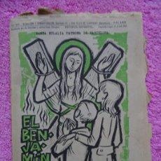 Coleccionismo de Revista Temas Españoles: EL BENJAMÍN REVISTA INFANTIL 289 SANTA EULALIA DE BARCELONA FEBRERO 1968. Lote 242867310