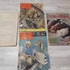 Coleccionismo de Revista Temas Españoles: REVISTAS CAZA Y PESCA AÑOS 50-60. Lote 243013505